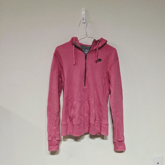 Nike Jackets & Blazers - 3/$55 Nike hot pink hoodie size L